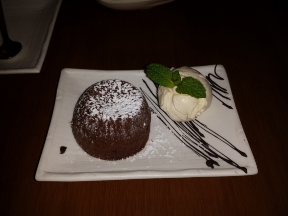 Guardian Soulmates Dating Restaurant Review - House of Ho - Dessert - Chocolate Cake